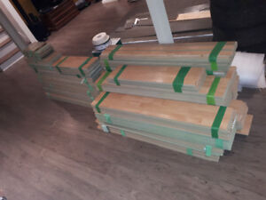 1200sq of 8mm laminate flooring with underlay for sale.