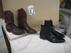 BOOTS, DAYTON FIELD SIZE 14 and Romeo shoes