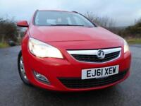 2012 61 VAUXHALL ASTRA 1.7 ES CDTI ECOFLEX 5D 108 BHP ** ESTATE , GREAT VALUE **