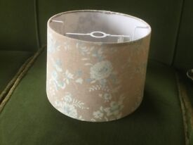 Lamp Shade Neutral Colours Excellent Condition