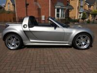 2005 SMART ROADSTER 0.7 BRABUS AUTO 2DR SILVER FULL HISTORY 12 MONTH'S M.O.T