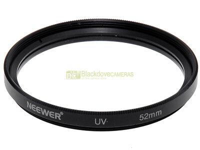 52mm. filtro UV Neewer. Ultra Violet Filter.