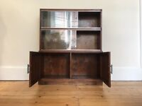 Vintage Minty of Oxford Stacking Library Book Case / Display Cabinet