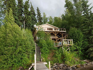 Cluculz Lake front cabin for sale