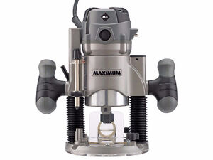 WANTED: MAXIMUM Fixed/Plunge Router (2015 model)