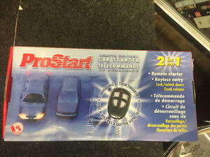 Car starter with remote never used 2 in 1 Cambridge Kitchener Area image 1