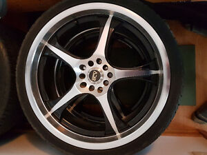 ADR 5 spoke 5 bolt wheels Excellent Condition