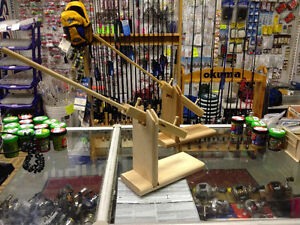 Wooden Tip-Up - Ice Fishing - $8.99 each or 2 for $15 Windsor Region Ontario image 1
