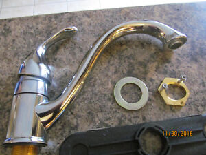 MOEN Kitchen Sink Faucet, Stainless Steel London Ontario image 2