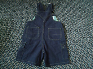 Boys Size 3 Short Cotton Overalls by Children's Place Kingston Kingston Area image 3