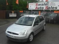 2004 FORD FIESTA LX 1.4 ONLY 75,560 MILES, IDEAL 1ST CAR, LOW INSURANCE GROUP