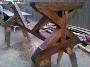 CUSTOM HAND CRAFTED FARMHOUSE HARVEST TABLES Peterborough Peterborough Area image 5