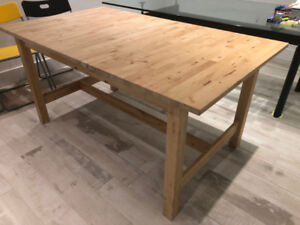 Selling an Ikea Norden Extendable Table $150