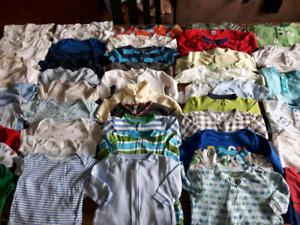 FAITES VOTRE PROPRE LOT vêtements garçon 0 a 6 mois