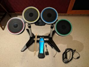 Rockband Drums and Microphone for PS3 NEVER USED