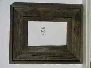 Barnwood picture frame, 4 X 6