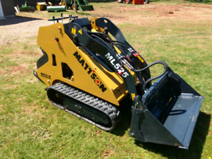Mattson ML525 mini skid loader