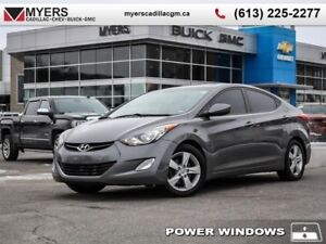 2013 Hyundai Elantra Limited  LIMITED, AUTO, SUNROOF, SUMMER AND