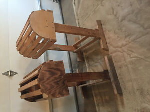 Wood saddle stands for sale
