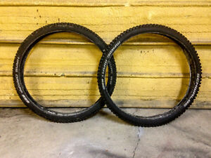 "Schwalbe Magic Mary Hans Dampf 29"" tires"
