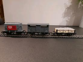 """Three """"00""""gauge railway wagons"""