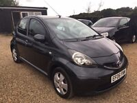 TOYOTA AYGO 1.0 5DR 2006 IDEAL FIRST CAR CHEAP INSURANCE AND ONLY £20 ROAD TAX