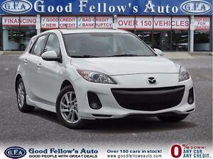 2012 Mazda MAZDA3 GX MODEL, LEATHER, SUNROOF, SKYACTIV