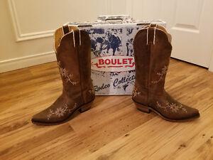Bottes western Boulet pour femmes