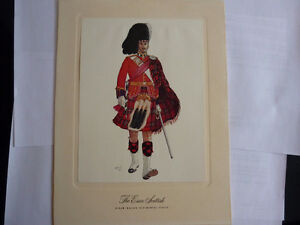 Hiram Walker 4 Of 8 Famous Canadian Highland Regiments Series