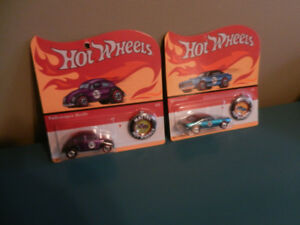 Hot Wheels Camaro, VW 50Th Anniversary Cars with Buttons