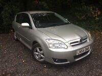 Toyota COROLLA 1.6 3dr Hatchback *HPI Clear* P/X CLEARANCE *Lady Owner* CHEAP INSURANCE TAX