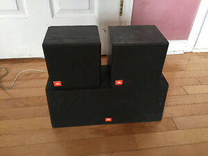 JBL surround speakers