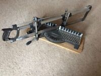 Mitre Saw Ideal for framing or cutting accurately a variety of angles. Excellent condition