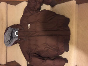 North Face Brown Puffy Winter Jacket !!!!!!!
