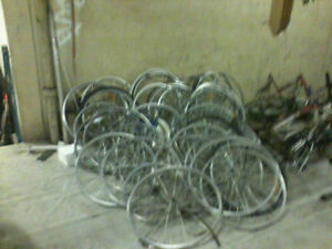 LOT of Bicycle Wheels New and Used