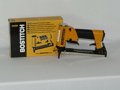 UPHOLSTERY AIR STAPLER, BOSTITCH 21671B STAPLEGUN, INDUSTRIAL, 71 SERIES STAPLER