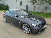 2007 (57) BMW 335 3.0 TWIN TURBO AUTOMATIC M SPORT JUST 80,000 MILES