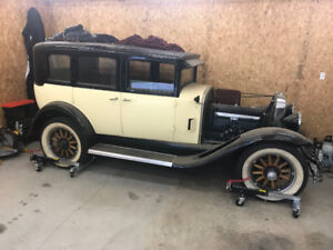 1929 MCLAUGHLIN BUICK SOLD SOLD