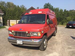 Ford diesel van $4500.00 or trade for camper & cash