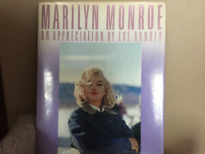 Marilyn Monroe books.  $25.00 each or 2 for $40.00