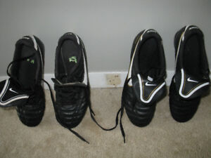 ADULT SOCCER SHOES/CLEATS $20/EACH