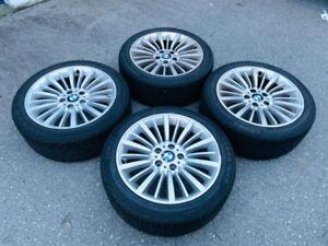 "BMW 328i 18"" Rim with all season tires."