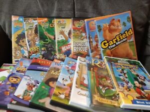 15 kid DVDs for only $20