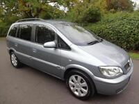 VAUXHALL ZAFIRA 1.6i (16v) BREEZE - 5 DOOR - 2005 ** 7 SEATER **