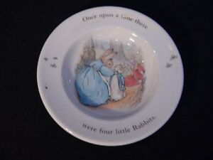 Wedgwood Peter Rabbit Plate Four Little Rabbits