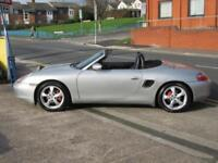 02 PORSCHE BOXSTER 2.7 MANUAL + FSH + NEW MOT