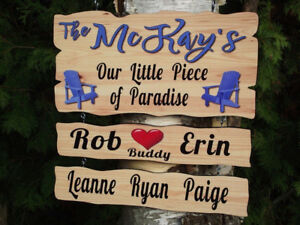VACATION HOME SIGNS