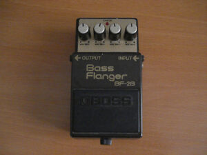 boss bf 2b bass flanger (usager) made in japan