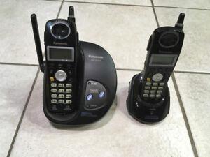 kit de Téléphones sans fils à vendre noir