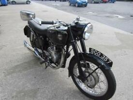 1959 VELOCETTE 500cc VENOM, SAME OWNER FOR LAST 33 YEARS, ORIGINAL NUMBER.